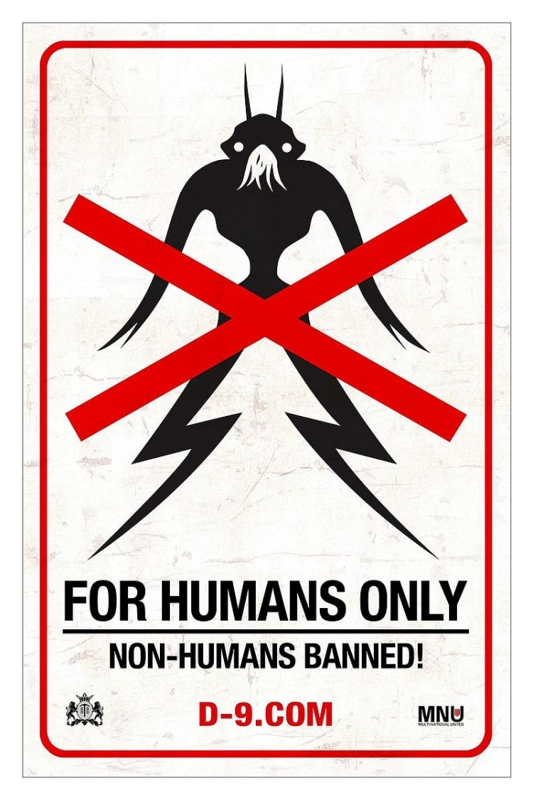 "A streetsign used in ""District 9"""