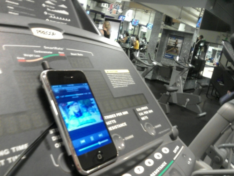 iPhone and iPod in the Gym with risk of voyeurism and associated liability