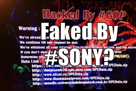 Is the Sony hack one big PR stunt?